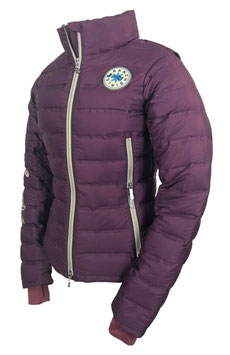 "RANCHGIRLS JACKET ULTRA PADDED pro.tec.you ""KARA"" plum"