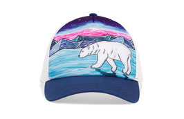 "Sunday afternoons Kid's Artist Series Trucker ""polar bear"""