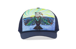 "Sunday afternoons Kid's Artist Series Cooling Trucker ""soaring sun"""