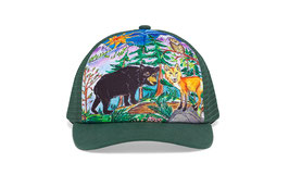 "Sunday afternoons Kid's Artist Series Trucker ""forest friends"""