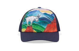 "Sunday afternoons Kid's Artist Series Trucker ""mountain goat"""