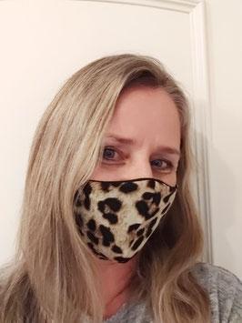 Gesichtsmaske Leopard für Erwachsene,  Muster,  11,90€