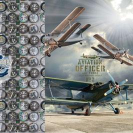 Jersey Panel dreigeteilt mit Doppeldeckern und Navigationsanzeigen von Stenzo, Grundpreis: 13,90€/Stck