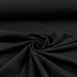 Jersey uni schwarz, Grundpreis: 12,90€/m