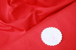 Jersey uni rot, Grundpreis: 12,90€/m