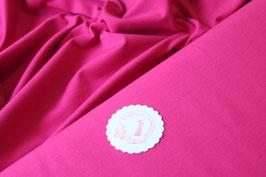 Jersey uni pink, Grundpreis: 12,90€/m