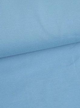 Jersey uni hellblau, Grundpreis: 12,90€/m