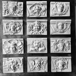 Mini-sculpture de mascaron Bordelais aimantée - Les Découvertes by Fredange
