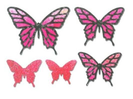 "Sizzix Thinlits Die, ""Butterflies, Intricate"""
