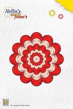 Stanzschablonen Multi Blume, Nellie