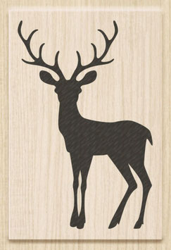"Holzstempel ""Christmas Deer"""