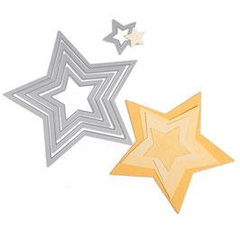 "Stanzschablonen Framelits ""Sterne"""