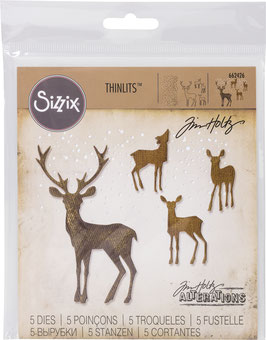 "Sizzix Thinlits Die Set 5Teile - ""Winterwonderland"""