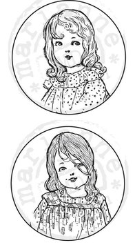 "Clingstempel ""Vintage Ladies"""