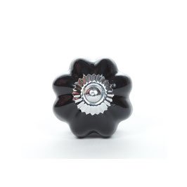 Möbelgriff A84a, sternförmig, schwarz