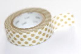 "Masking Tape ""Goldpunkte"""