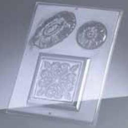 "Reliefform ""Ornamente 3-teilig 155"""