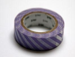 """Masking Tape """"violett, quergestreift"""""""