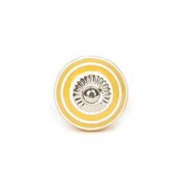 Möbelgriff A44, Streifen gelb/weiss
