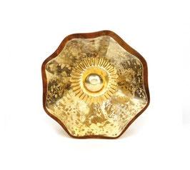 Möbelknopf B10, goldfarben