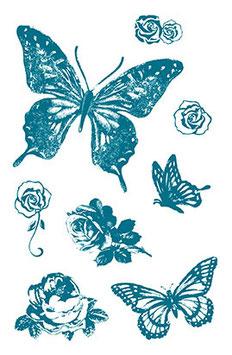 "Silikonstempel ""Schmetterlinge"""