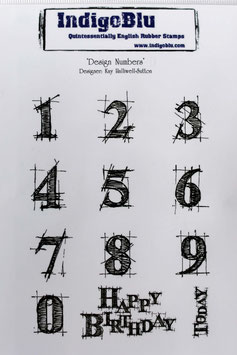 "Clingstempel ""Design Numbers"""