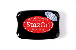 "StazOn Stempelkissen ""Black Cherry"""