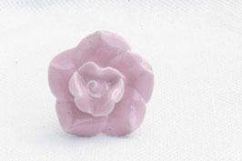 Möbelknopf B3, Rose rosa  60078P