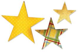 Stanzschablonen Sizzix Bigz Die - Stars