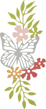 "Sizzix Thinlits Die ""Meadow Butterfly"""