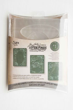 "Sizzix Big Shot Prägeschablone ""Embossing Diffuser Set"""
