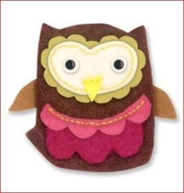 Stanzschablone Sizzix Bigz Die, Owl #4