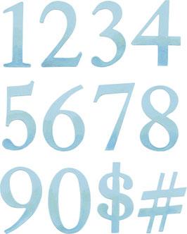 Stanzschablone Sizzix Bigz Alphabet Numbers , 2-teilig