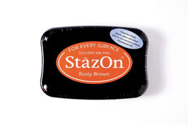"StazOn Stempelkissen ""Rusty Brown"""