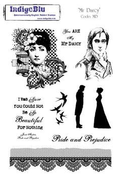 """Stempel, gross """"Mr. Darcy"""""""
