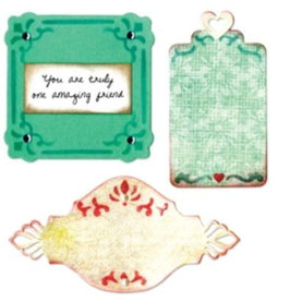 "Sizzix Thinlits Die, ""Ornate Labels"""