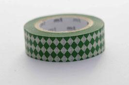 """Masking Tape """"Diamant dunkelgrün"""""""