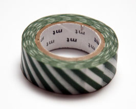 "Masking Tape ""grün, quergestreift"""