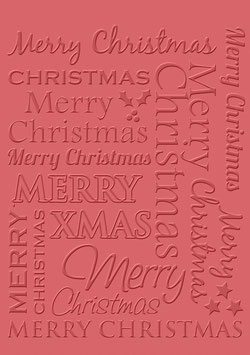 "Sizzix  Prägeschablone ""Merry Christmas"""