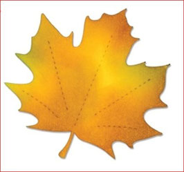 Stanzschablone Sizzix Bigz Die, Leaf, Maple