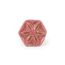 Möbelgriff A204, Blüte Shabby rot, klein