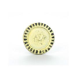Möbelgriff V04, Ornamente rund gelb