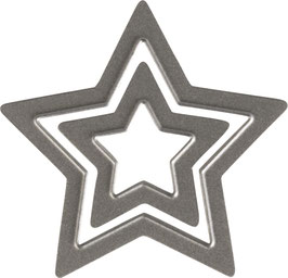 "Sizzix Thinlits Die Set 2 Teile - ""Tiny Star"""