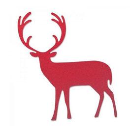 Stanzschablone Sizzix Bigz Die, Proud Deer