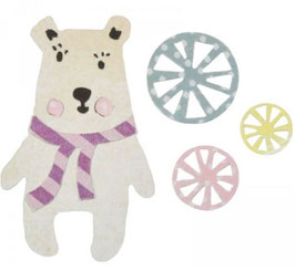 Sizzix Thinlits Die Set 6Teile - Friendship Bear