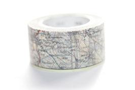 """Masking Tape """"Landkarte"""""""