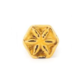 Möbelgriff A201, Blüte Shabby gelb, klein
