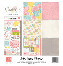 "Papierset ""EP Mini Theme, ""Dearest"""