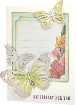 Sizzix Thinlits Die, Sizzix Thinlits Die Set 4 Stk - Winged Beauties