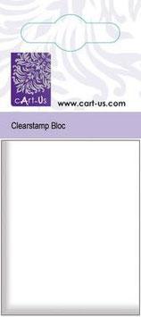 Acrylblock für Clearstempel, klein